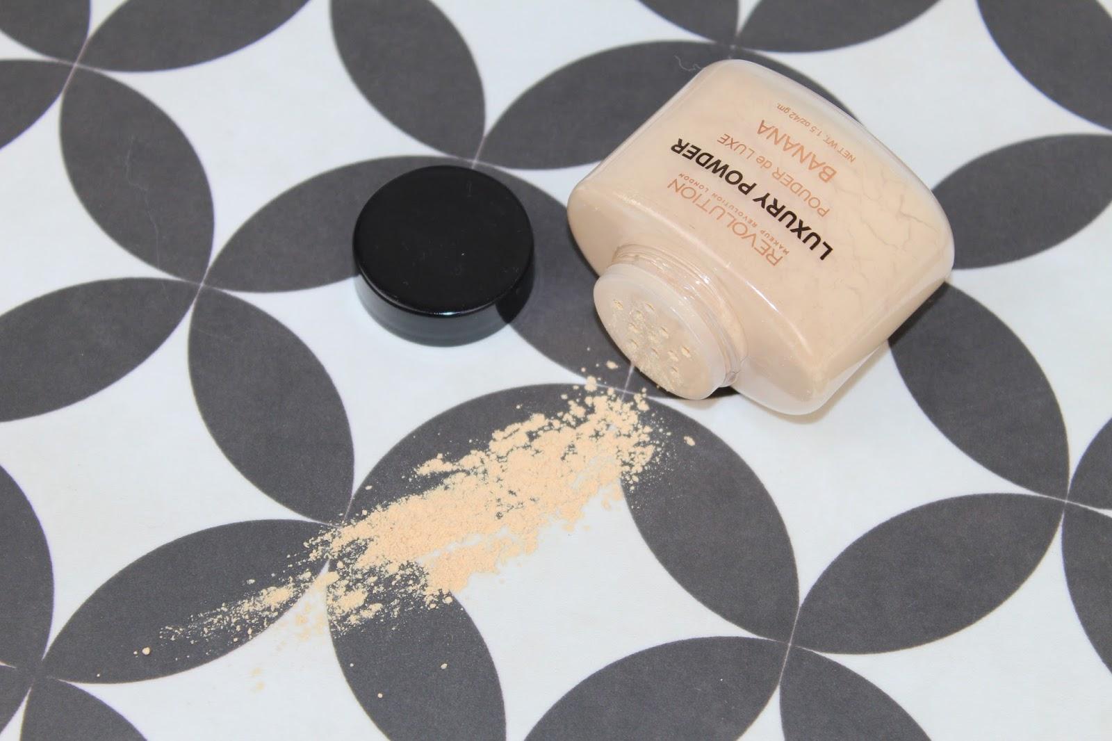 Makeup Revolution Banana Powder Review and Photos