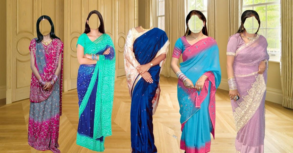 Aman Studio Indian Saree Psd