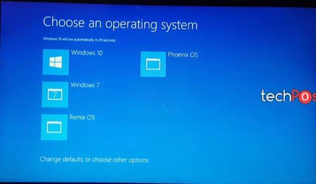 Cara Lengkap Install Phoenix OS di Windows