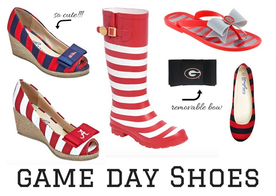 Cute game day tailgating shoes!