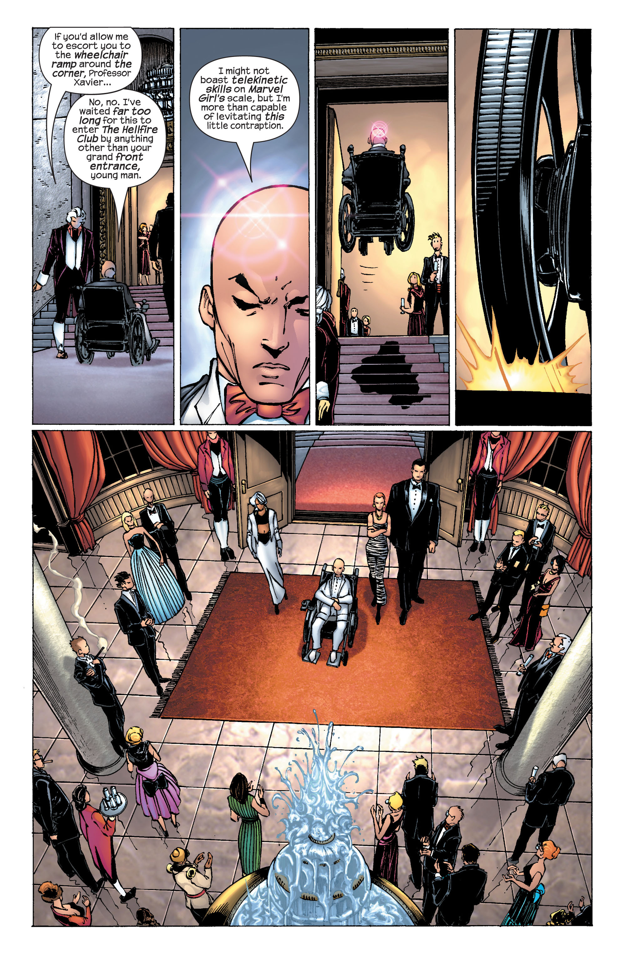 Read online Ultimate X-Men comic -  Issue #25 - 5