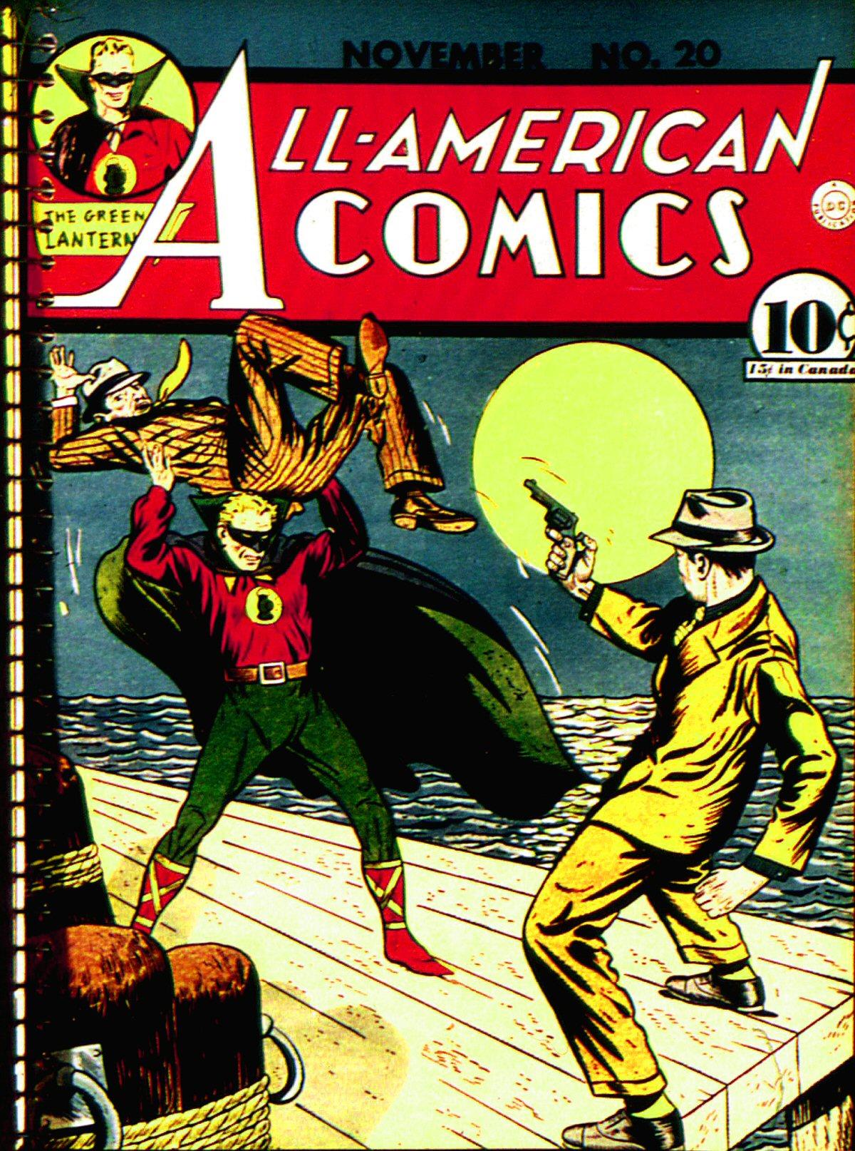 Read online All-American Comics (1939) comic -  Issue #20 - 1