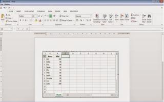 Cara Memasukkan Microsoft Excel Kedalam Microsoft Word Dengan Mudah