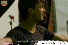 Updated: Last day of filming Harry Potter: includes Daniel's speech