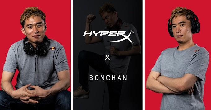 HyperX Welcomes Street Fighter Champion Bonchan With Headset Sponsorship