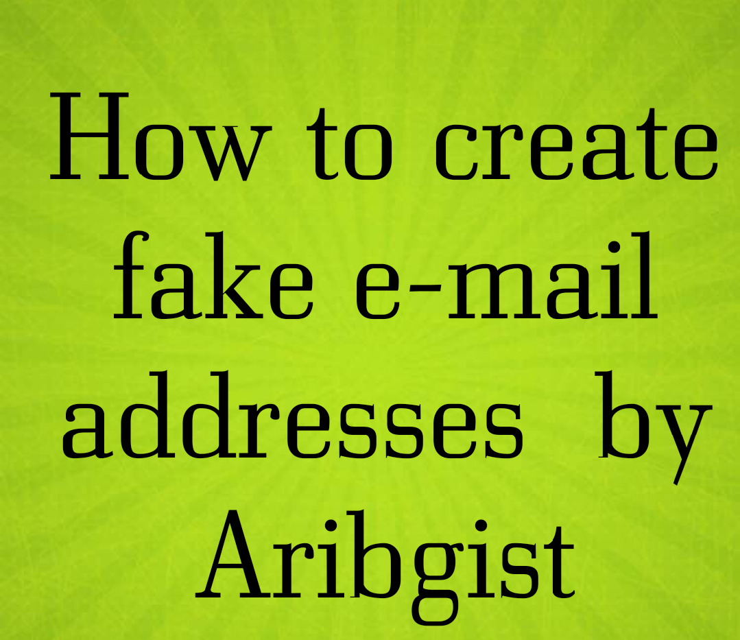 how to find fake email address