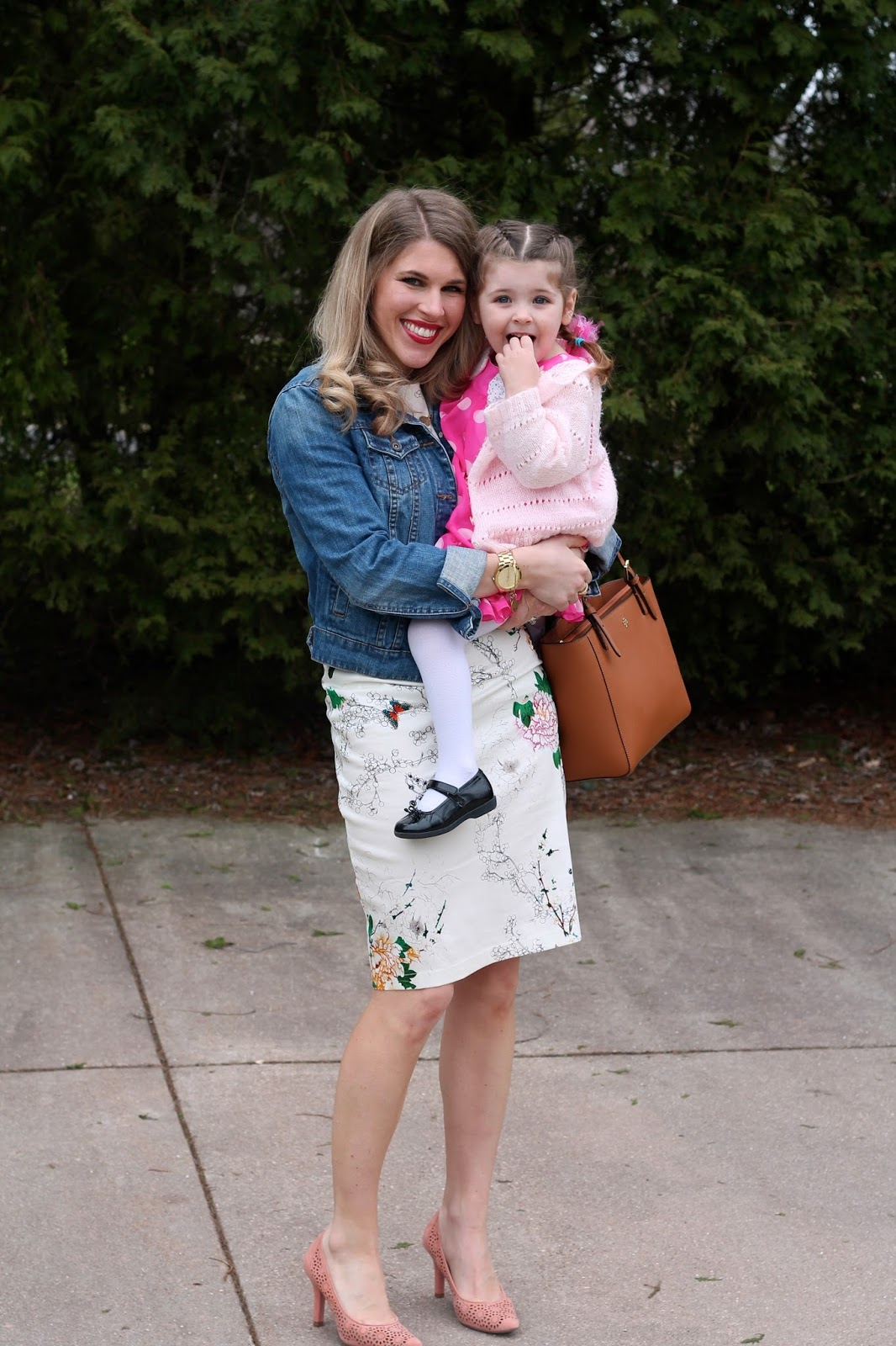 i do declaire mommy  daughter easter outfits