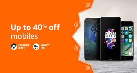 Amazon Deal on Smartphones