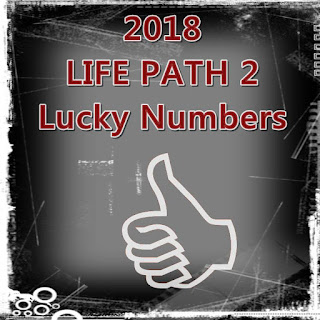2018 LIFE PATH 2 Lucky Numbers Love and Money