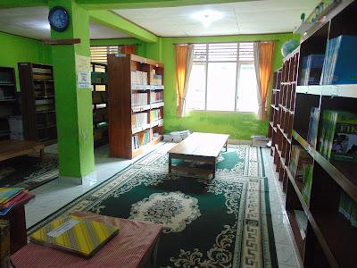 Perpustakaan MTs Nurul Huda Pringsewu
