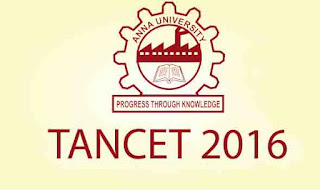 TANCET 2016 Application Form