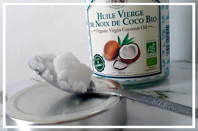 salle de bain zéro déchet huile de coco