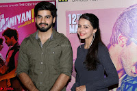 Arsh Sehrawat & Shrenu Parikh (3)   Teaser Launch Of Film Thodi Thodi Manmaaniyan ~  Exclusive.JPG