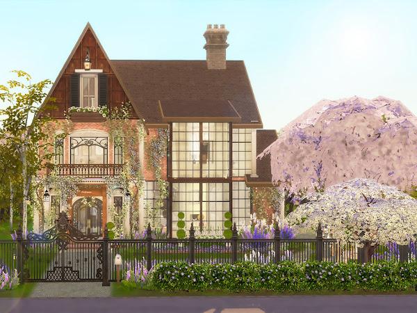 Sims 4  Charming Family Home  法國鄉村宅