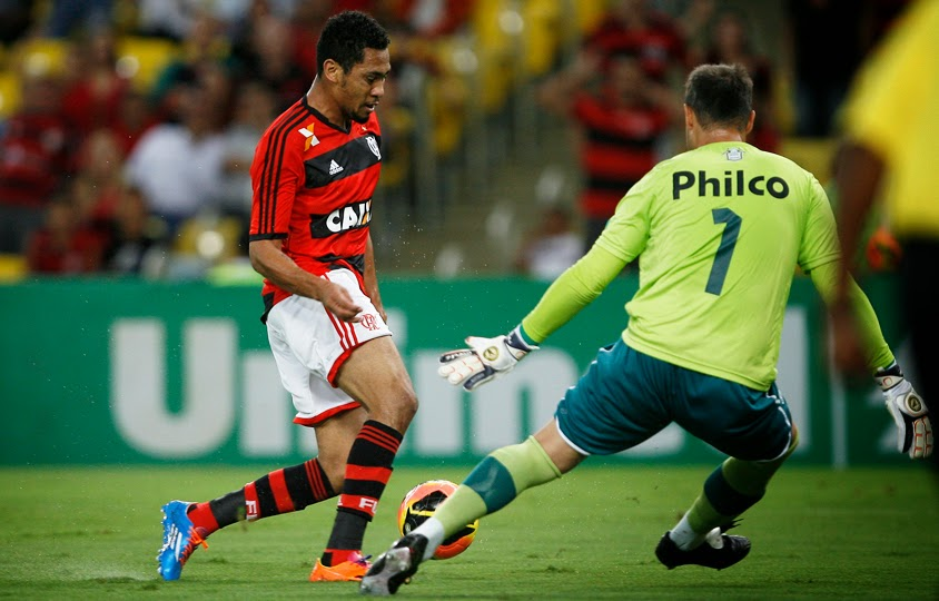 dd766a77a0 Após marcar o único gol do Flamengo contra o Goiás