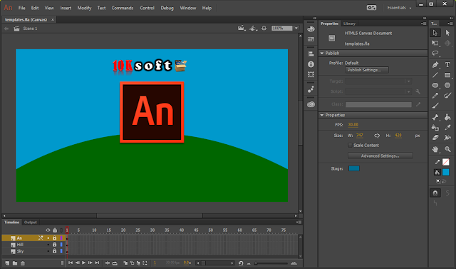 Adobe Animate CC 2017 latest version Free Download
