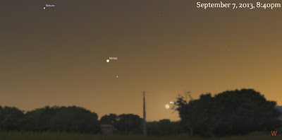 venus saturn september 7