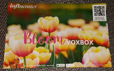 Influenster Bloom Voxbox and P&G Beauty Voxbox