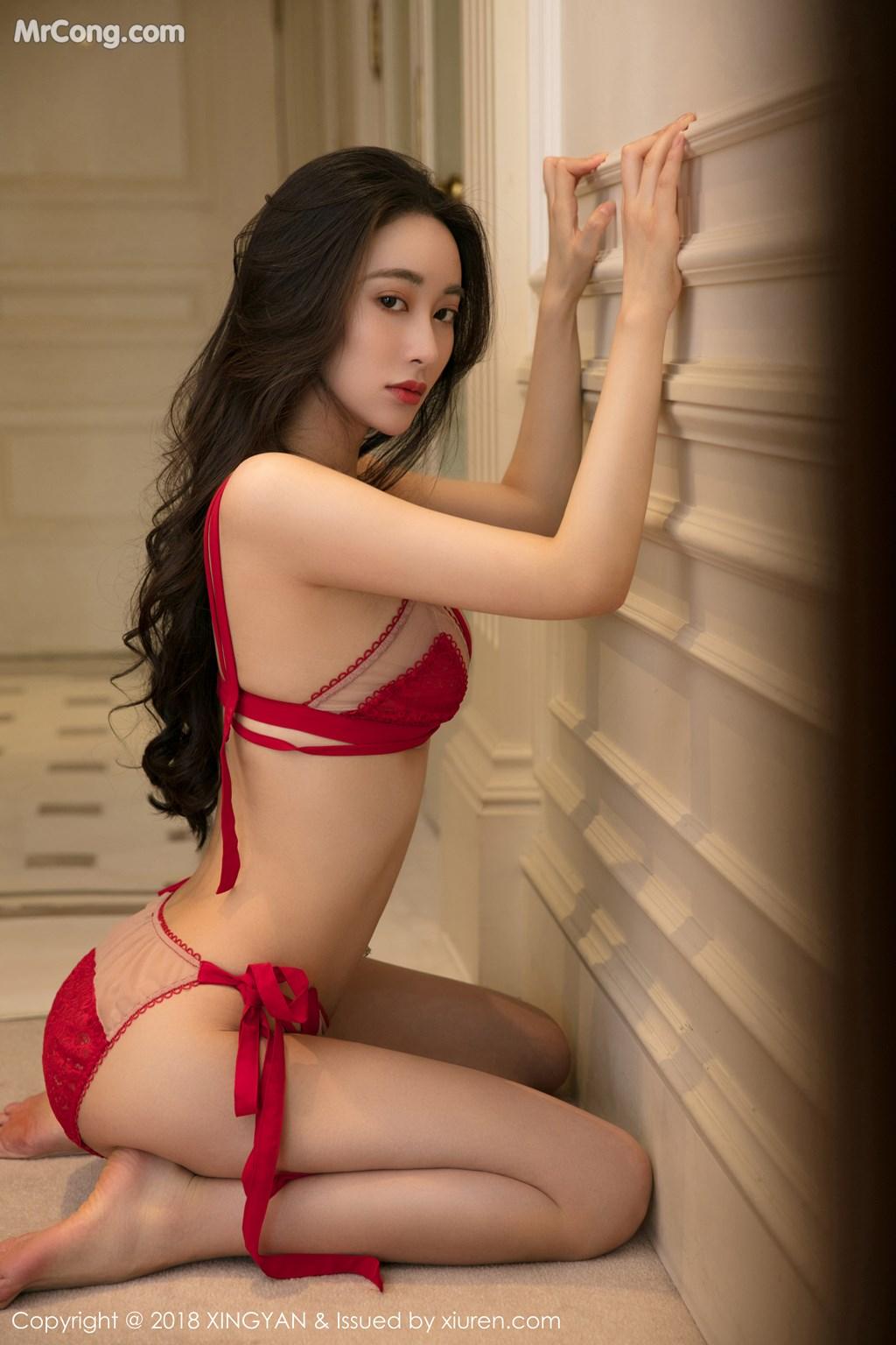 Image XingYan-Vol.100-Various-Models-MrCong.com-016 in post XingYan Vol.100: Various Models (102 ảnh)