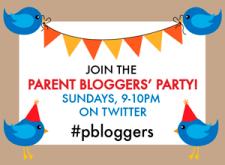 #pbloggers badge