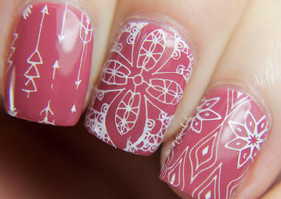 B Polished Classic Lace Stamping