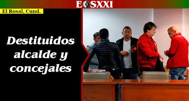 Destituidos alcalde de El Rosal y cinco concejales por pedir dinero