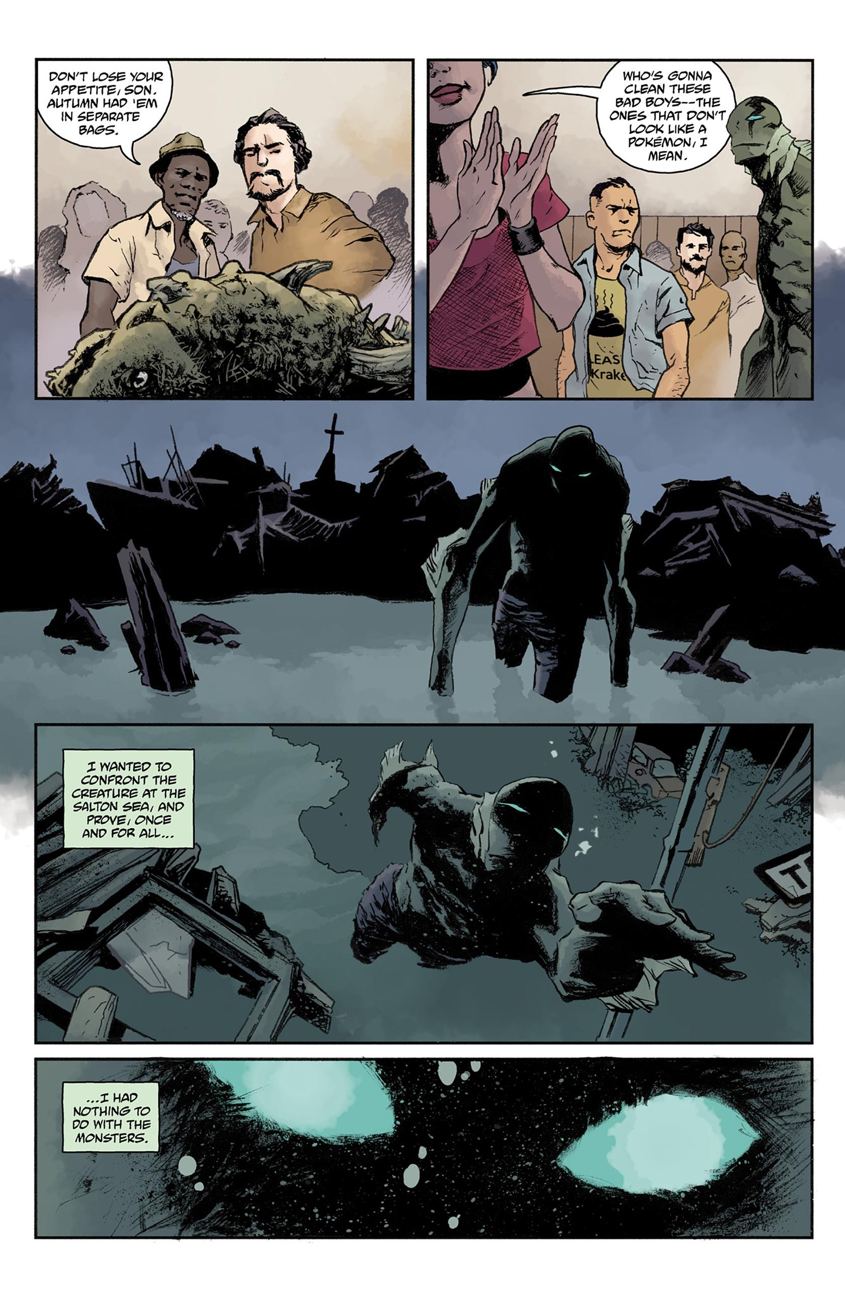 Read online Abe Sapien comic -  Issue #24 - 18