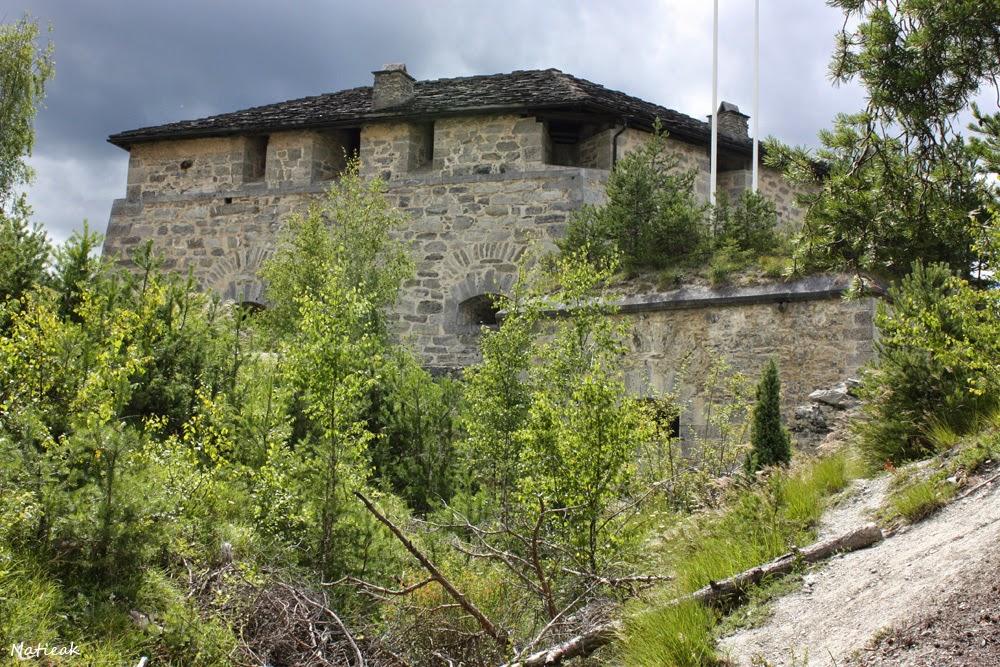 Le fort Marie-Christine d'Aussois