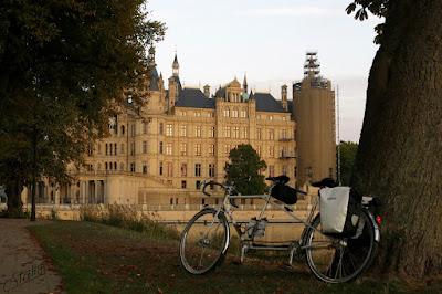 Schwerin castle - Peugeot Tandem