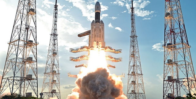 GSLV Mk III Lift Off. Photo Credit: ISRO