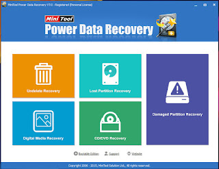 MiniTool Power Data Recovery Personal 7 with Serial Full Version