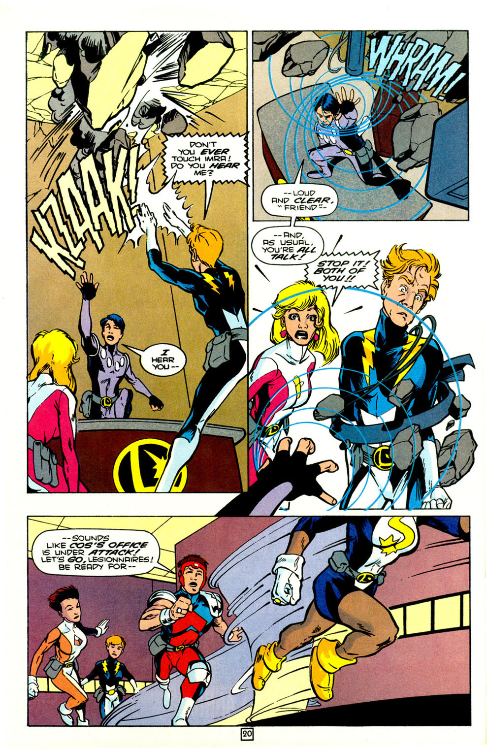 Legion of Super-Heroes (1989) 72 Page 21
