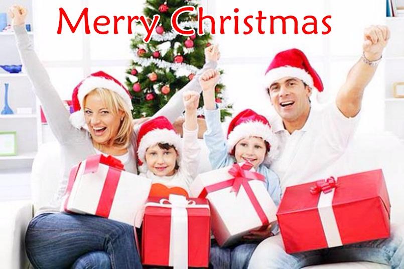 Christmas Family Wallpaper