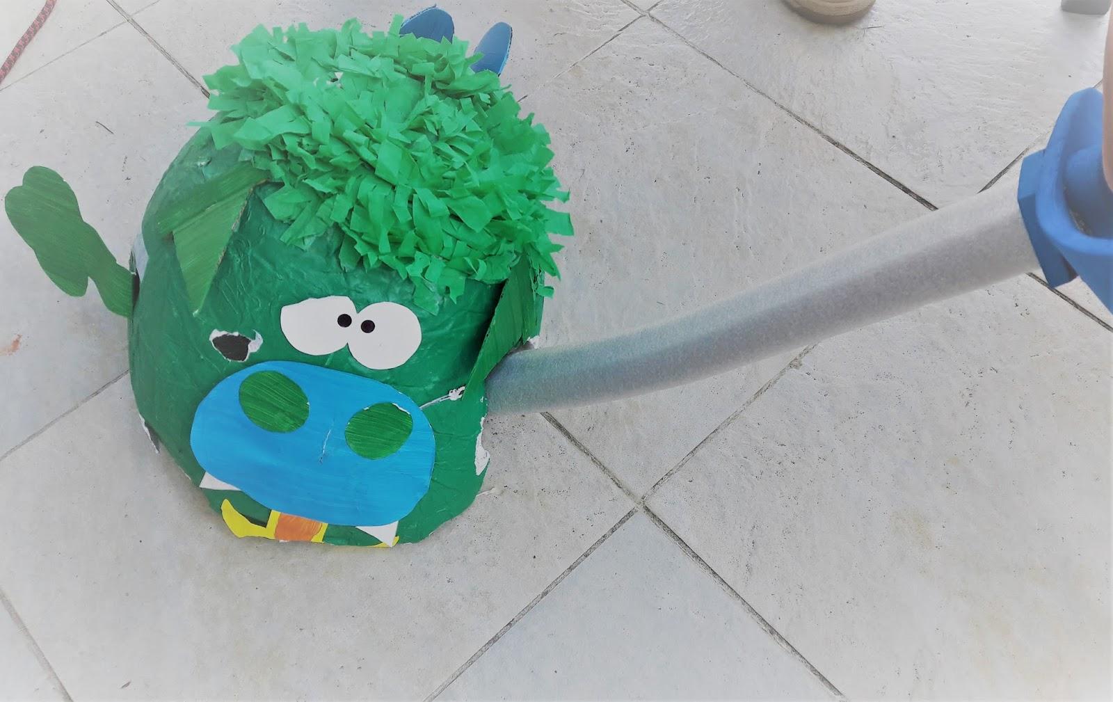 Fabriquer Une Pinata Facile Et Rapide tutoriel : une piñata dragon ! - la quiche et ses lardons