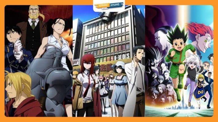 Anime Series dengan Rating Tertinggi Sejauh Ini