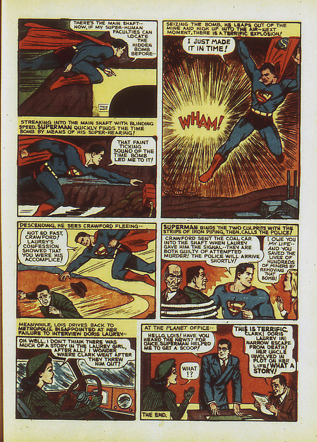 Read online Action Comics (1938) comic -  Issue #34 - 16