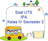 Soal UTS IPA kelas 4 semester 2 dan download soal