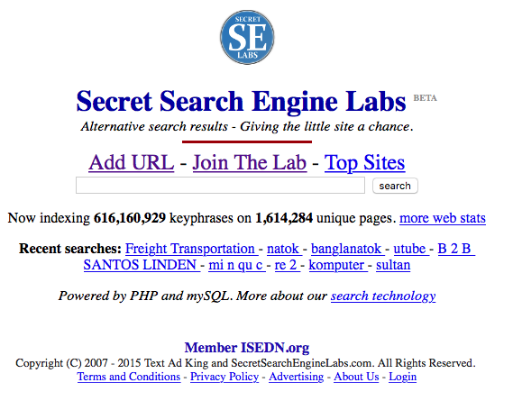 Add URL Free - Search engine placement and registration