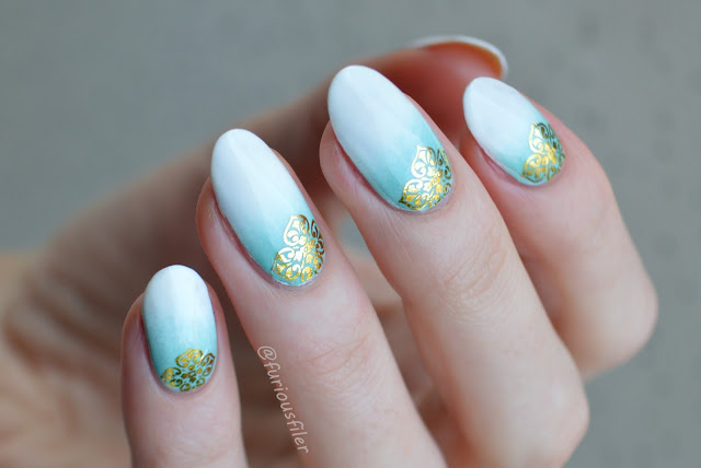 metallic water decals damask review gadient delicate
