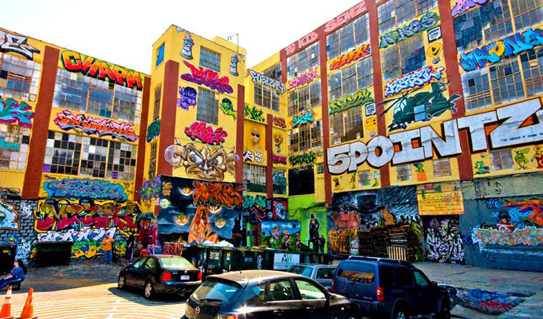 5Pointz, la Meca de graffiti en Nueva York