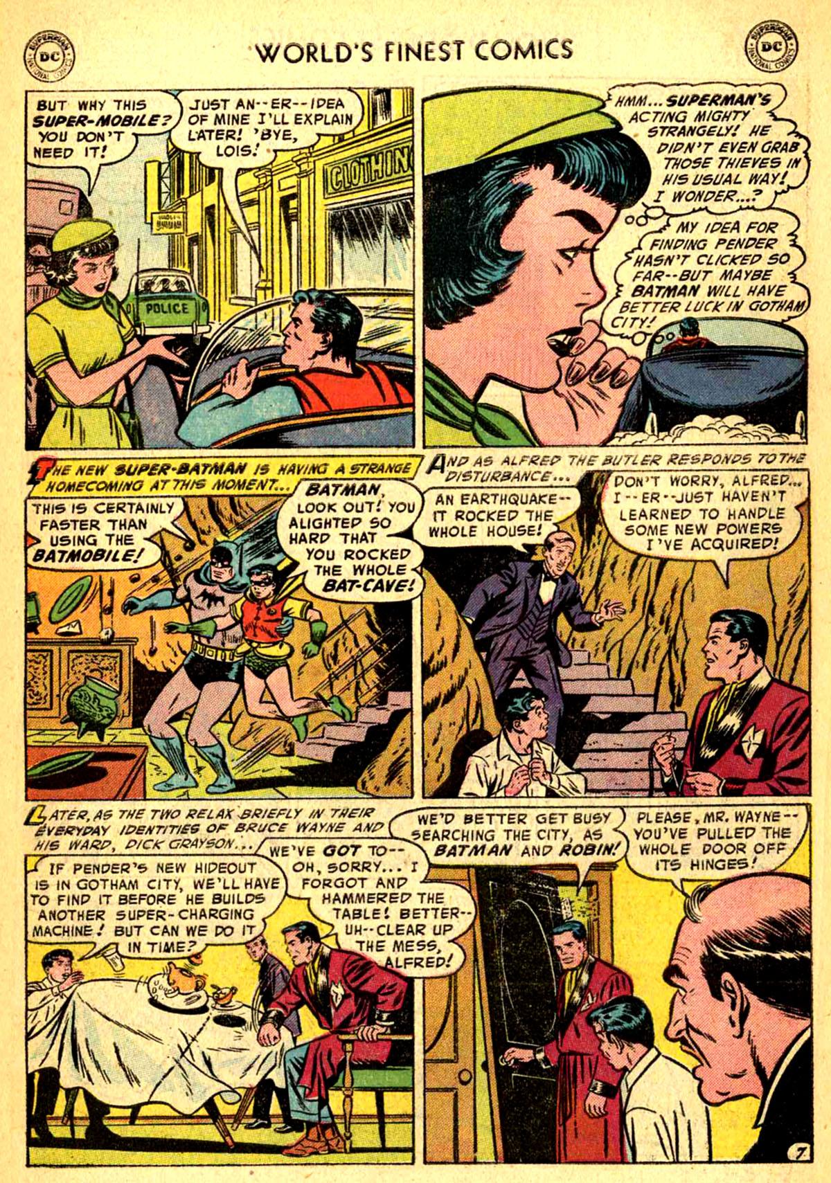 Read online World's Finest Comics comic -  Issue #77 - 9