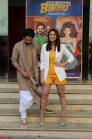 Parineeti Chopra with Ayushmann Khurrana at the Launch of Trailer of Meri Pyaari Bindu 018.JPG