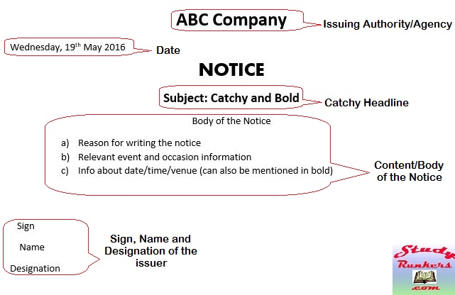 Format Of Notice Image Gallery  Hcpr