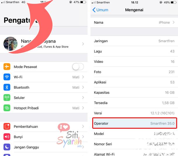 bisakah iphone menggunakan kartu smartfren