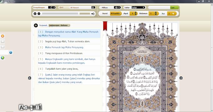 "Murottal Aplikasi Al-Quran ""Quran Karim"""
