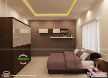 Bedroom Interior Design - Kerala Home And Floor Plans