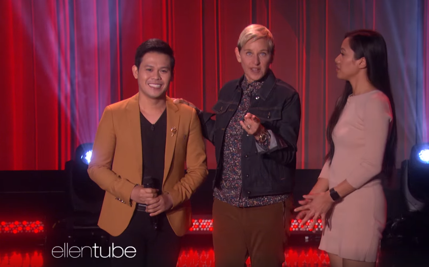 Marcelito Pomoy wows with excellent performance on The Ellen DeGeneres Show
