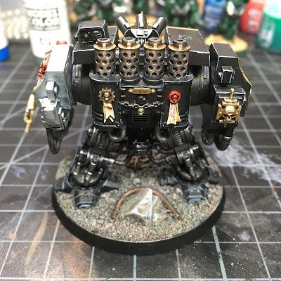 WIP: Deathwatch Dreadnought (Rear)