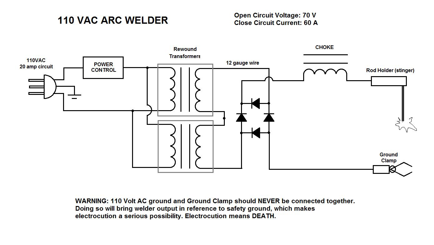 arc welding machine circuit diagram