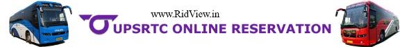 UPSRTC Bus Ticket Online Booking